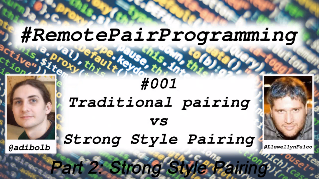 Strong Style Pairing