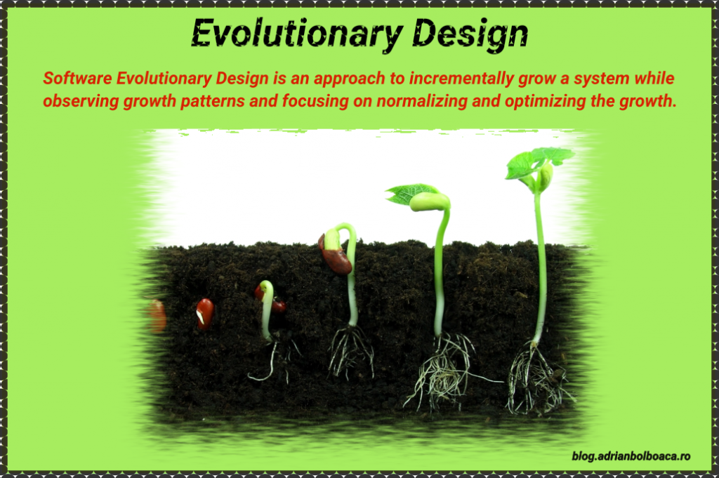 What is Evolutionary Design