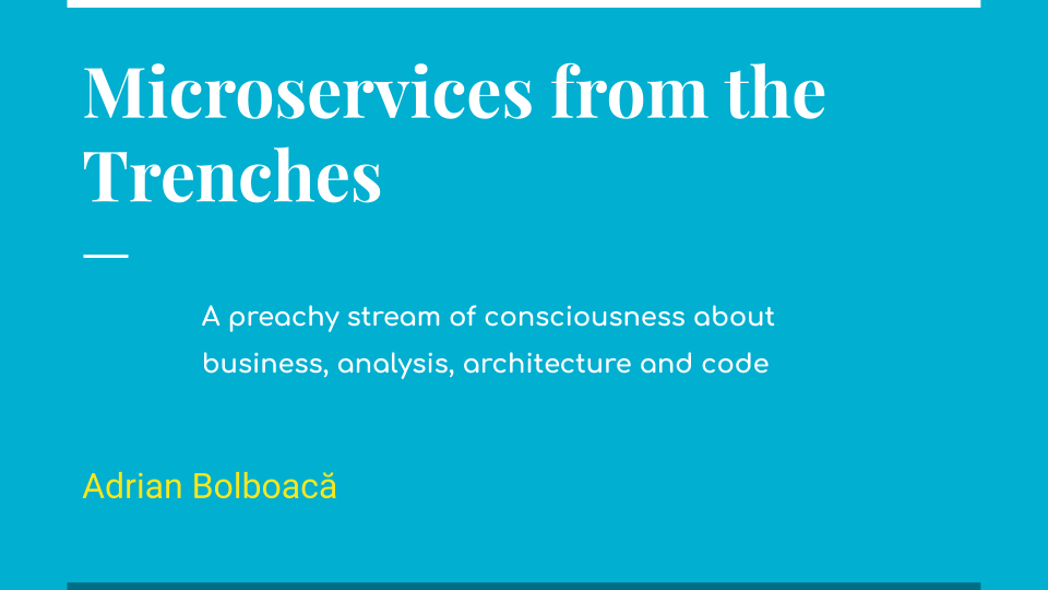 Microservices from the Trenches