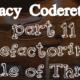 Legacy Code Refactoring Rule of Three
