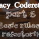 Legacy Code Basic Rules of Refactoring